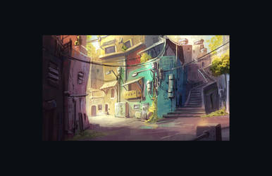 Favela by coMceptArt971