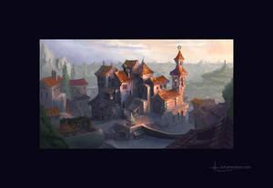 Ochre village