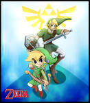 Legend of Zelda - Link and Toon link