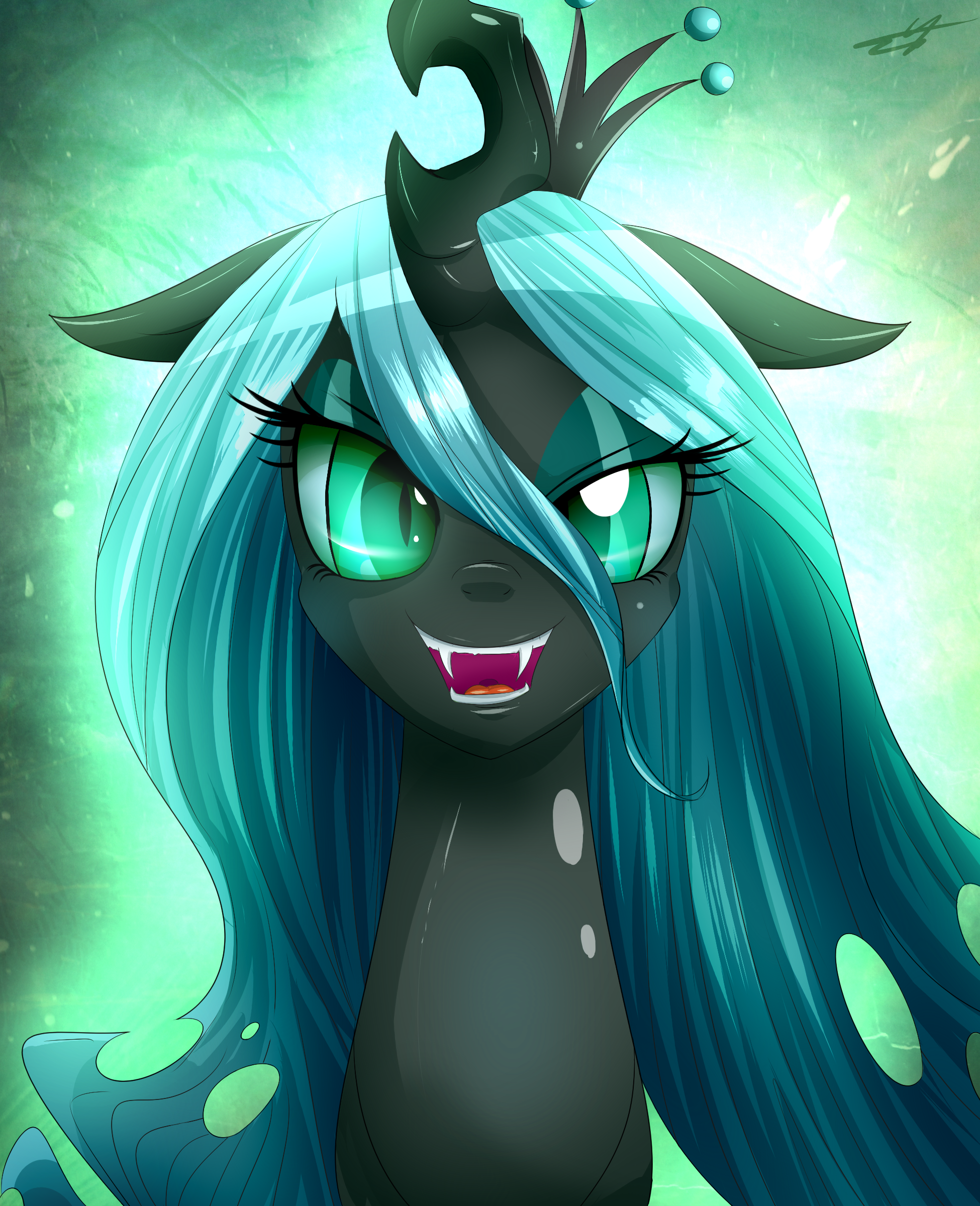 queen chrysalis hipster-#50