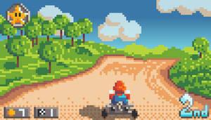 Pixel Daily: Mario Kart 8 Demaster