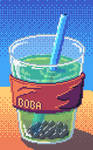 Pixel Daily: Cold Drink - Boba