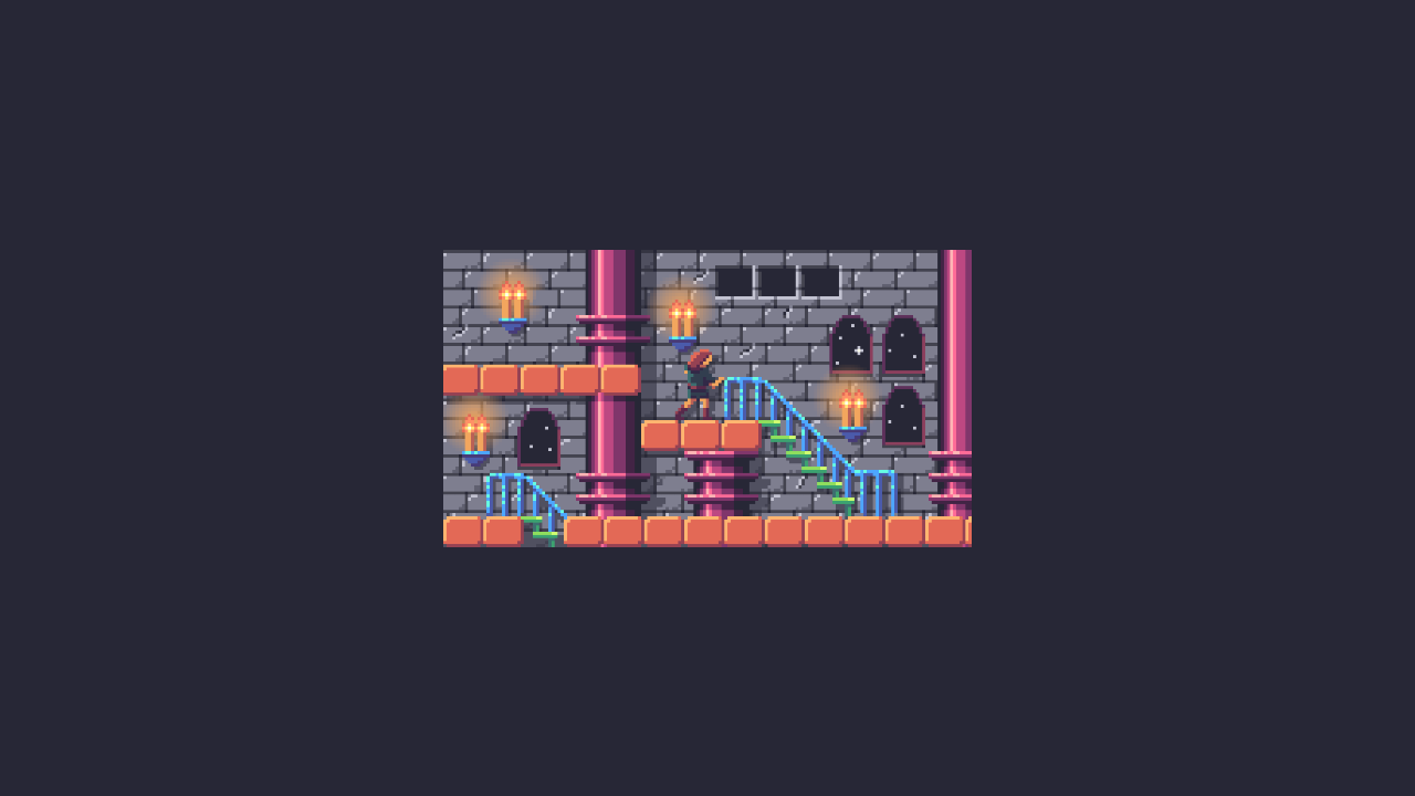 Pixel Daily: Castlevania, Framed
