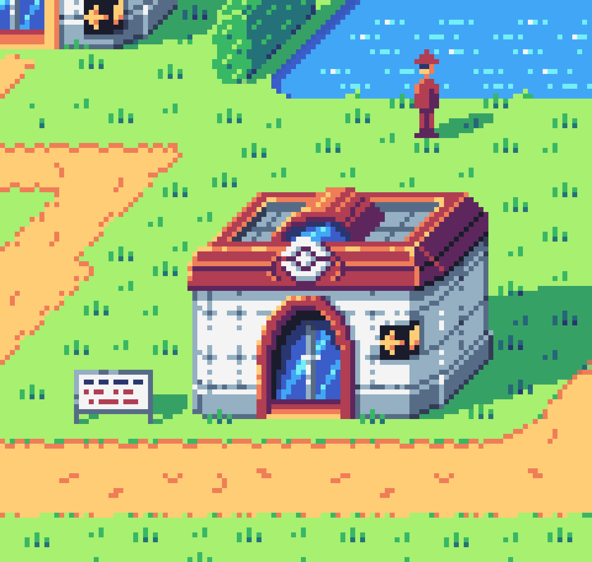 Pixel Daily - 'Oblique House': Pokecenter