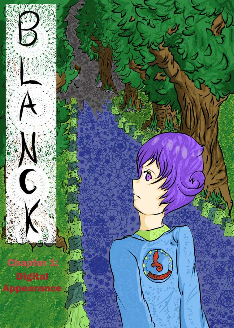 Blanck cover (Chapter 1 Digital Appearance) by thebigtear