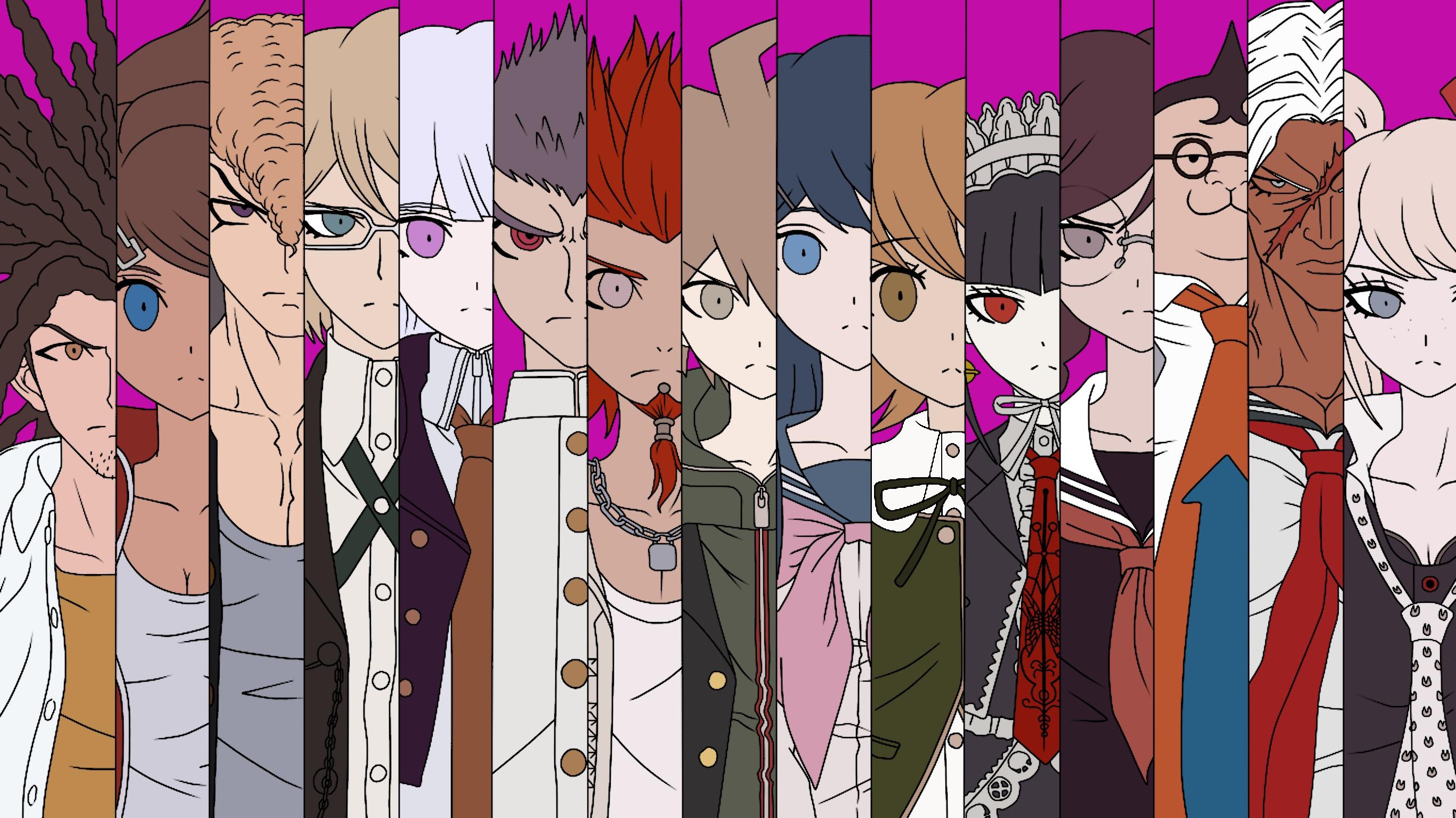 Danganronpa Anime Characters : Danganronpa characters hd by xero oc on deviantart