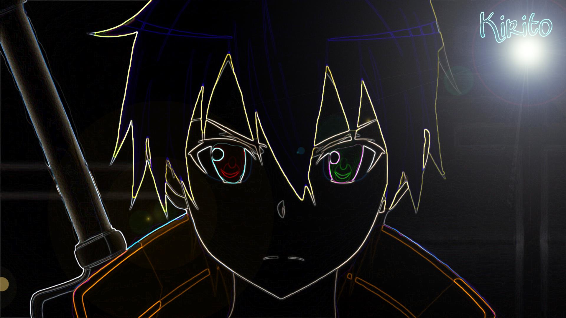 kirito dark wallpaper - photo #3