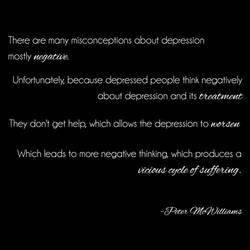 The vicious cycle of depression by My13LostMemories