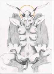 Satan, take my veins by MikeHi13