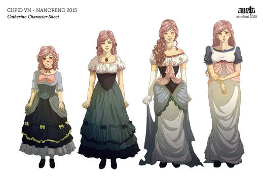 Cupid VN - Catherine Character Sheet