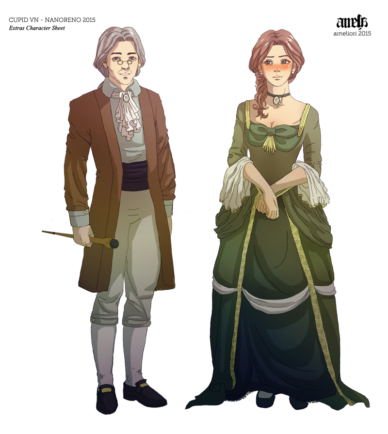 Cupid VN - Francois and Amelia Character Sheet