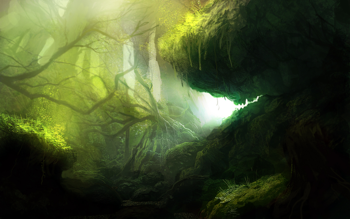 Green Forest by PE-Travers on DeviantArt