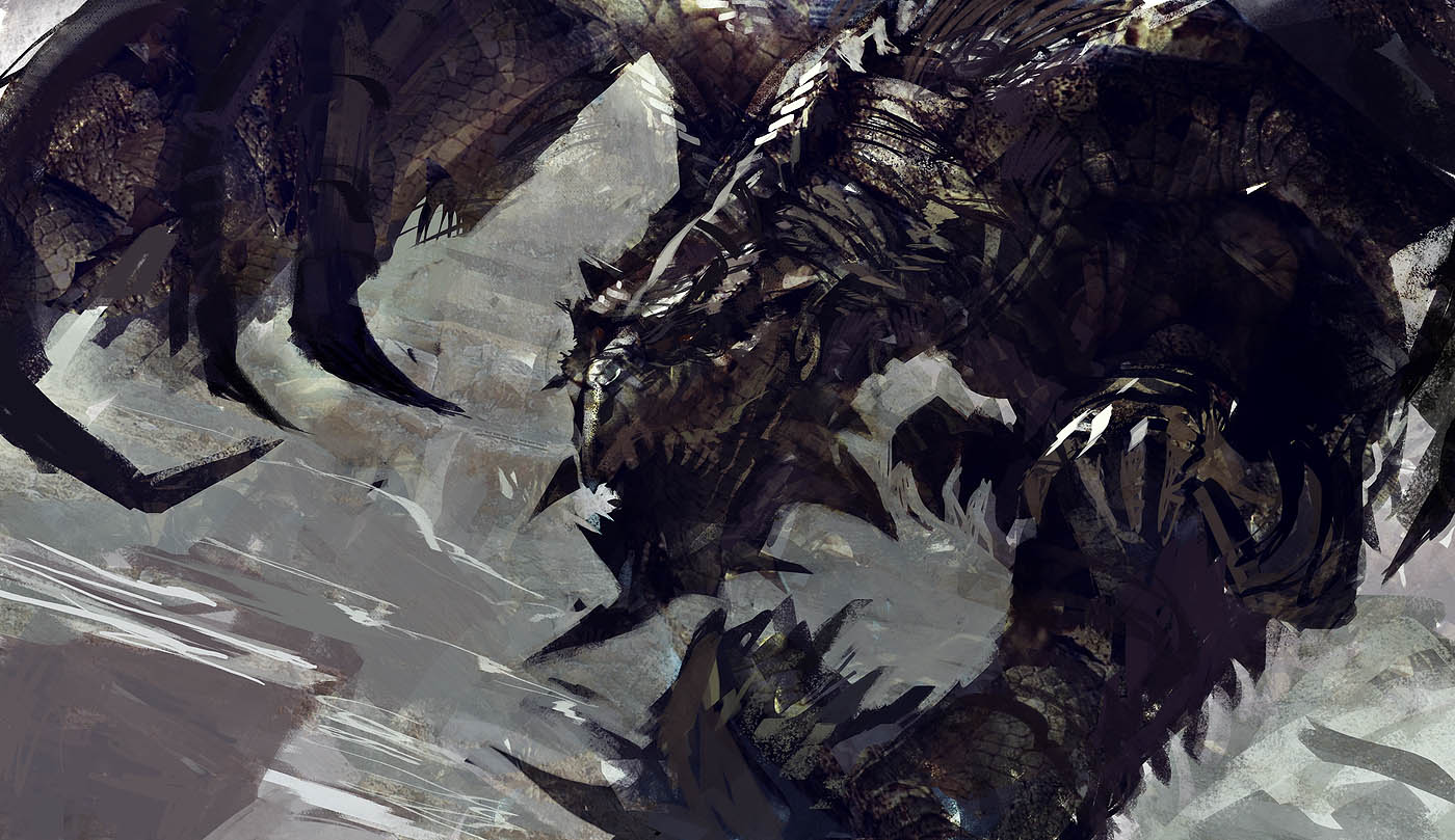 Rathian by PE-Travers