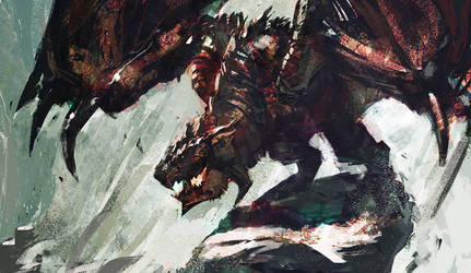 Rathalos by PE-Travers