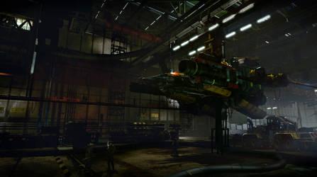 Strike Vector Garage by PE-Travers