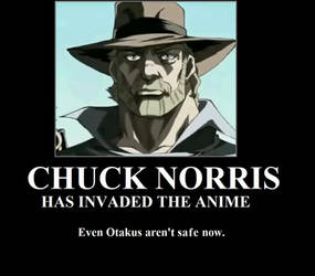 CHUCK NORRIS INVADED ANIME