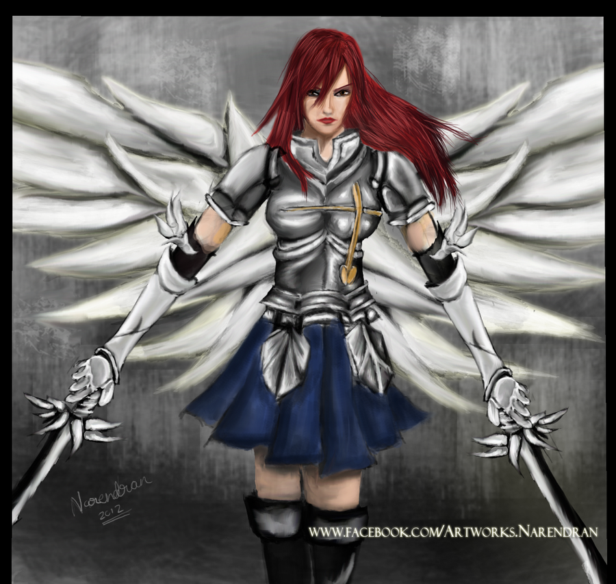 Erza Scarlet Wallpaper: Fairytail By TheNair On DeviantArt