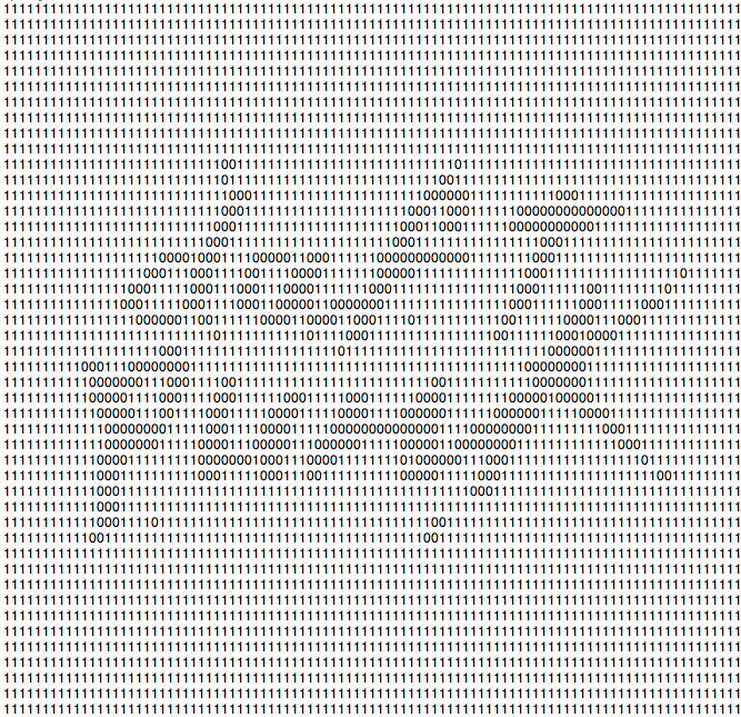 Binary Daft Punk Logo by IrQQ