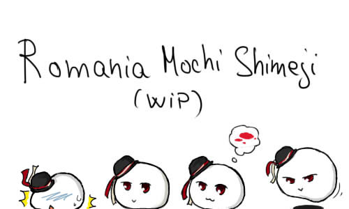 Romania Mochi Shimeji [WIP - CANCELLED] by Graycchi