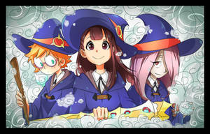 [Little Witch Academia] A lil' burst of magic by Graycchi