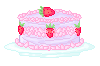 Strawberry Cake by ThisTeaIsTooSweet