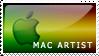 Stamp: New Mac Artist by Readerkevin