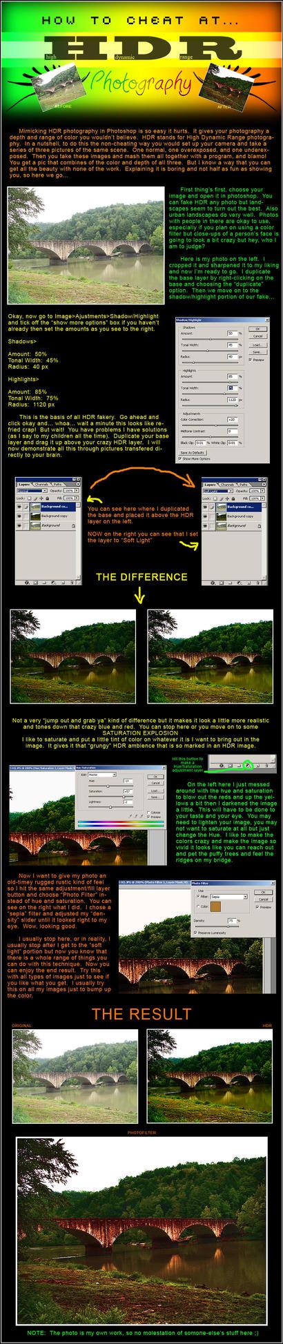 How to Fake HDR by deirdrebardowl