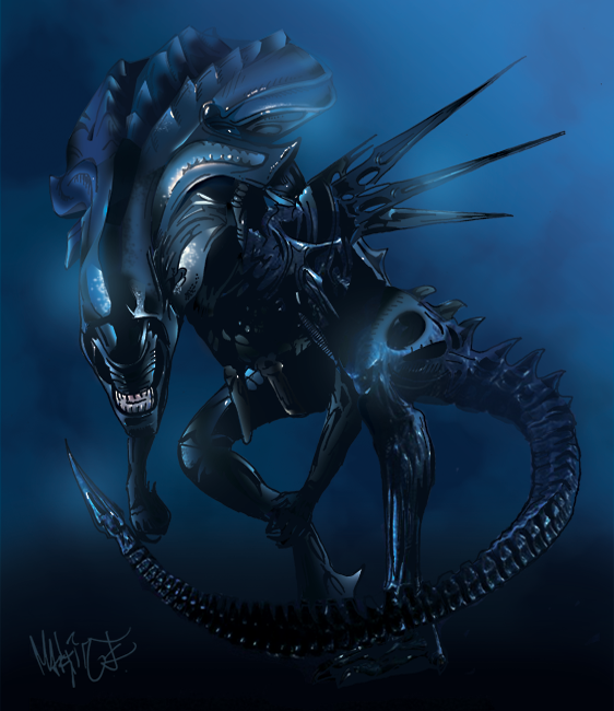 Alien Queen By Edde On Deviantart