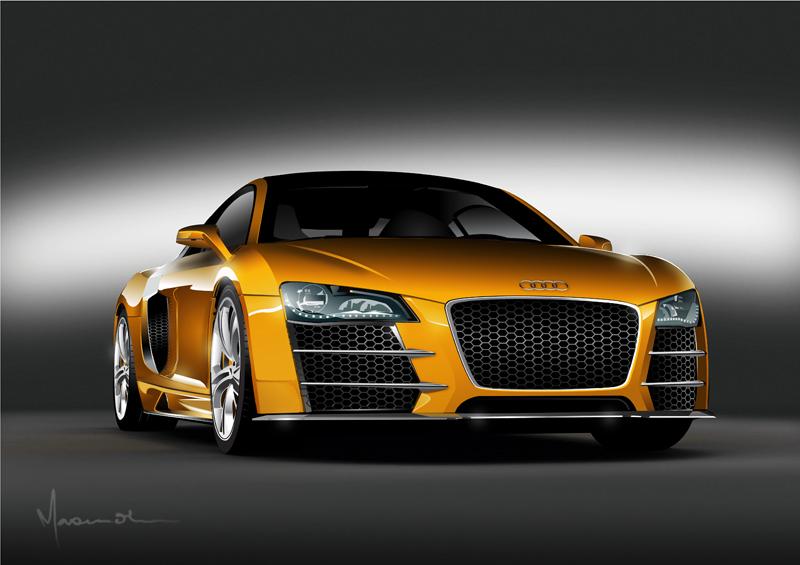 Audi R8 by edde