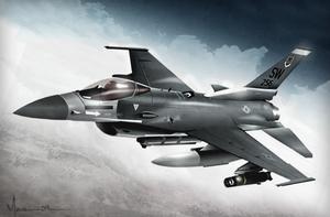 F-16 Fighter by edde