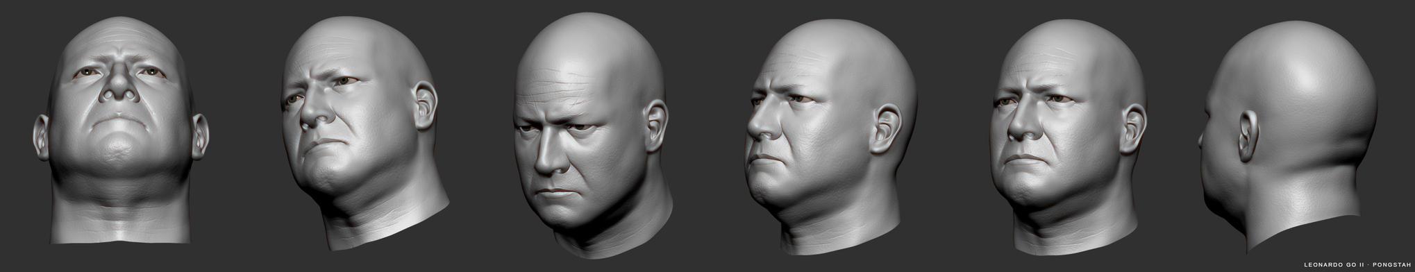 Head Sculpting Practice by pongstah