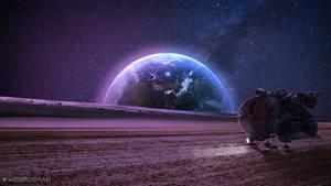 Space Trip 4k
