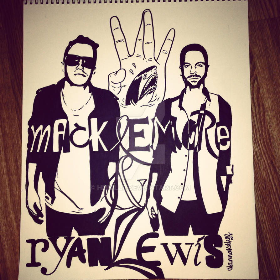 Macklemore and Ryan Lewis by hhhilll on DeviantArt