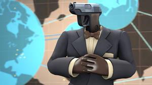 [SFM] Agent Gunn But He is literally A Gun