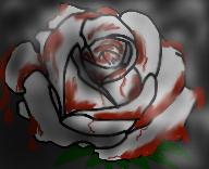 Bloody Rose by SpazMutt