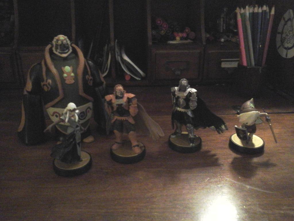 Custom Paintjob Amiibos And Toon Ganondorf Figure By