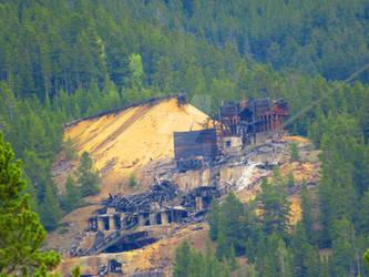Destroyed Mine