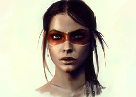 Warrior woman by JenL0hjelm