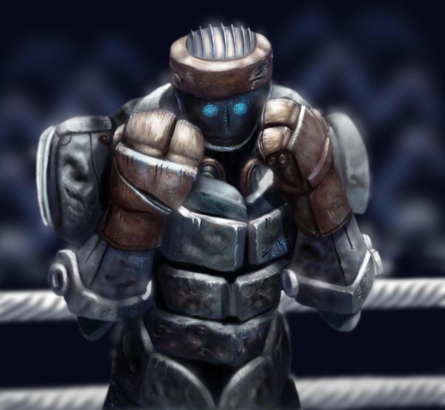 Atom Real Steel by BillCreative on DeviantArt