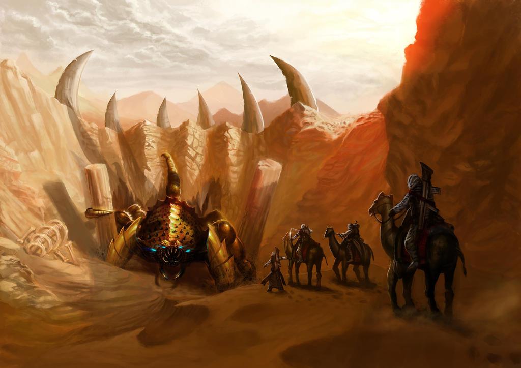 Desert Scorpion by BillCreative