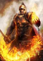 Prometheus God of Flame level 1 by BillCreative