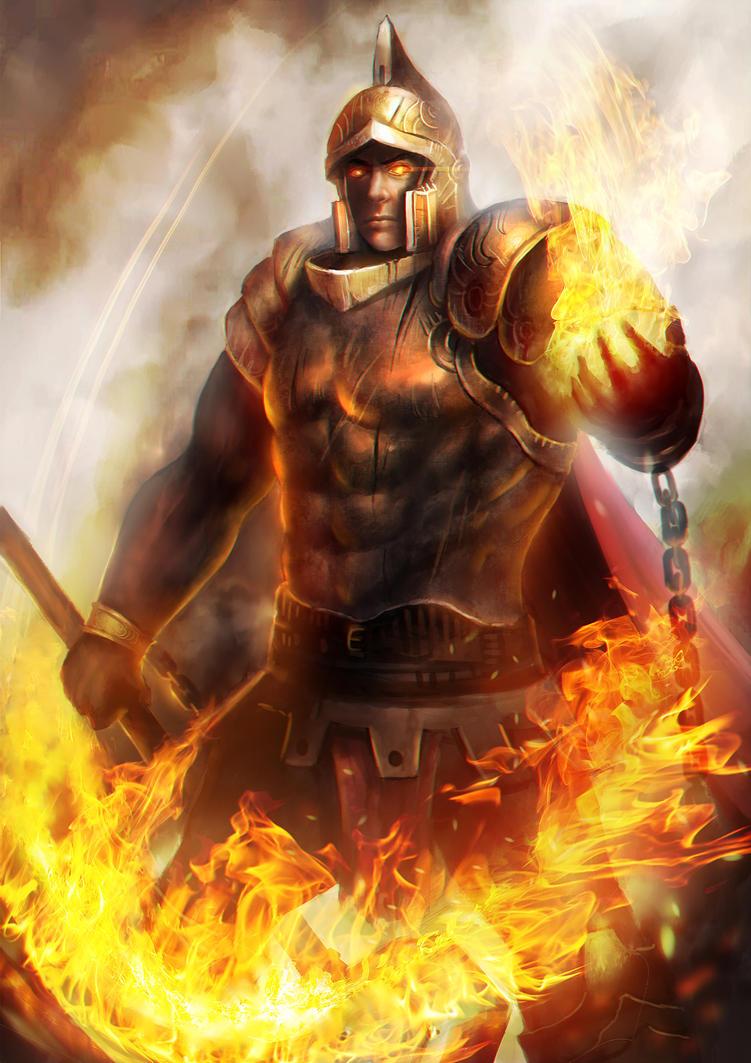 Prometheus God Of Fire
