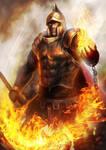 Prometheus God of Flame level 1