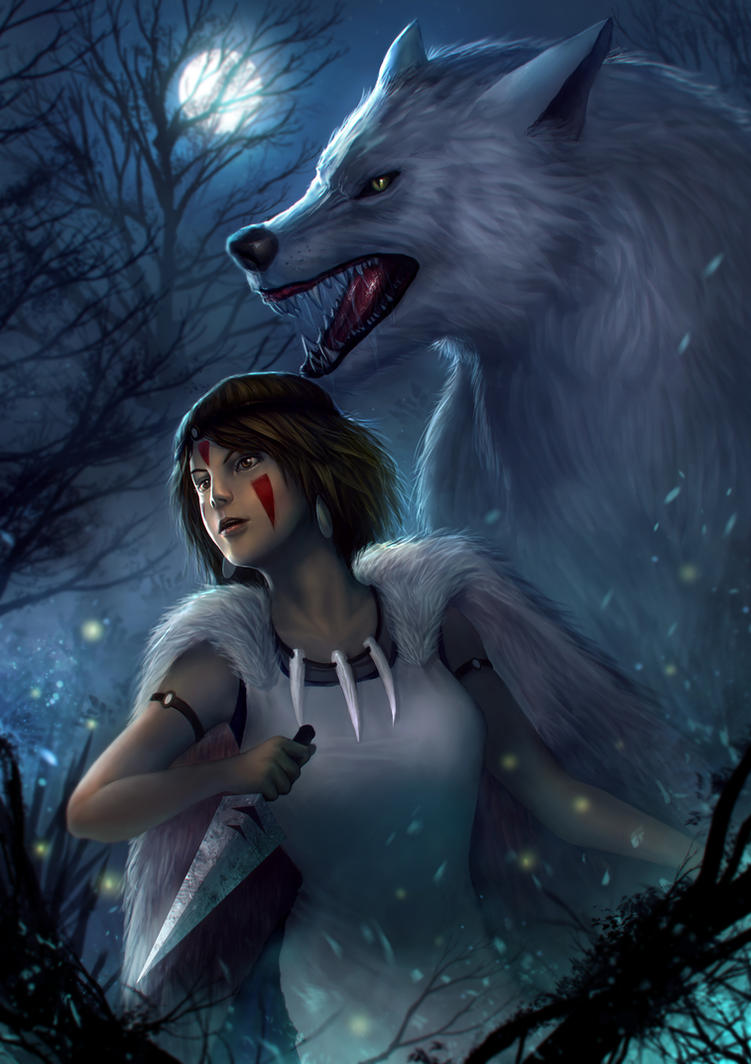 Princess Mononoke by BillCreative