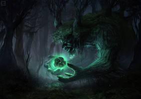 Schemer Treefolk by BillCreative