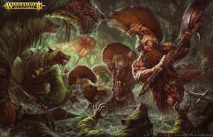 Warhammer Battletome : Fyreslayers by BillCreative