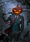 Spooky Jack O' Lantern