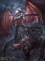 Dragon Princess Saggan - Advanced by BillCreative