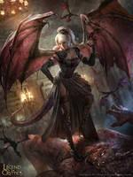 Dragon Princess Saggan - Regular by BillCreative