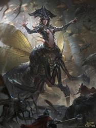 Quezia, Carapace Queen - Advanced by BillCreative